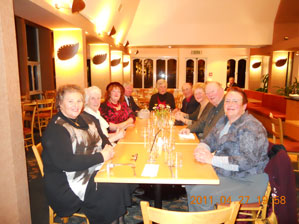 Dickens Fellowship members in Christchurch, New Zealand - 2011
