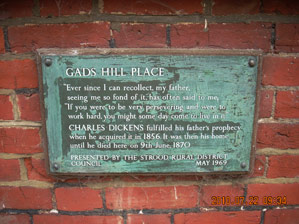 Gad's Hill Place - 2010